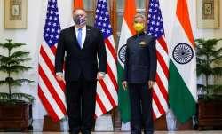 External Affairs Minister S Jaishankar with US Secretary of