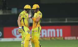 Shane Watson and Faf du Plessis remained unbeaten in the