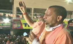 Uttar Pradesh Chief Minister Yogi Adityanath in Hyderabad
