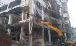 Lucknow: 3-storey Dragon mall bulldozed in crackdown