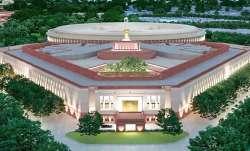 Centra Vista: Construction work of new Parliament building begins
