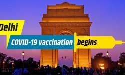 COVID-19 vaccination begins in Delhi