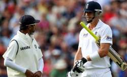 Kevin Pietersen and Rahul Dravid
