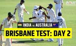Highlights India vs Australia 4th Test Day 2: Follow live