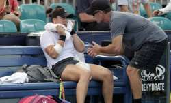 In this March 21, 2019 file photo, Bianca Andreescu, of