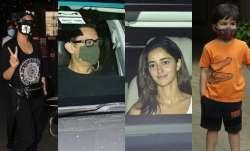 Sonakshi Sinha at airport, Ananya Panday at Karan Johar