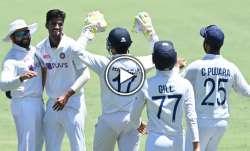 washington sundar, india vs australia, ind vs aus, aus vs ind 2020, ind vs aus 2020
