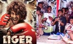 Vijay Deverakonda gets 'happy emotional' after fans response to Liger's first poster; watch video