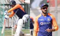 Virat Kohli and Axar Patel