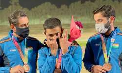 shotgun world cup, india mens skeet team