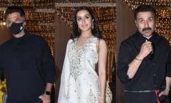 Bollywood celebs includingShraddha, Anil Kapoor, Sunny