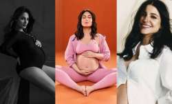 A fashion inspired maternity shoot was almost unheard of back in the day, but now everyone from A-l