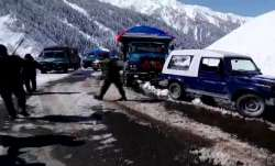 Srinagar-Leh highway reopens for traffic after two months