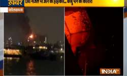 kolkata fire, fire kolkata, kolkata strand road fire, fire news, kolkata fire today,