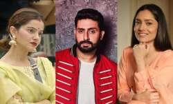 Rubina Dilaik, Abhishek Bachchan, Ankita Lokhande