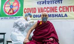Dalai Lama gets 1st dose of COVID-19 vaccine, urges people to get vaccinated