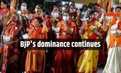 BJP'sstellarperformance in Gujarat local body polls.
