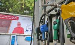 modi posters at petrol pumps