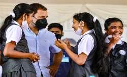 rahul gandhi dance video, rahul gandhi school students dance, rahul gandhi push ups, rahul gandhi ta