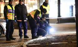 Man injures 8 with ax in Sweden before being shot, arrested