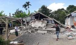 earthquake, killing, Indonesia, Jakarta, earthquake magnitude, damage due to earthquake, Kepanjen to