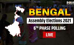 bengal polls 2021, bengal sixth phase