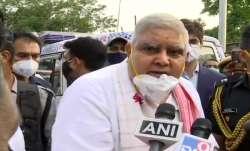 jagdeep dhankhar,cooch behar, cooch behar violence, bengal news, bengal news updates
