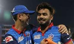 Rishabh Pant and Ricky Ponting