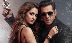Radhe poster featuring Salman Khan, Disha Patani