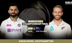 India vs New Zealand, World Test Championship Final Live Streaming: How to watch Live WTC Final