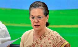 Sonia Gandhi's statement has come on the first anniversary