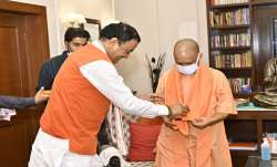 The Chief Minister and UP's other Deputy Chief Minister,