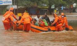 National Disaster Response Force (NDRF) personnel rescue