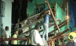 Building collapses in Mumbai, fireman among 6 injured