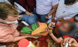 Delhi girl death, Rahul Gandhi, rahul gandhi in trouble, sharing victim family photo, victim family,