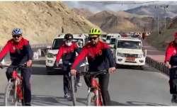 anurag thakur cycle rally