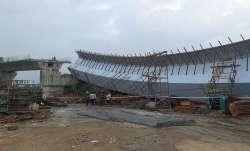 Mumbai thirteen labourers injured portion under construction flyover collapsed