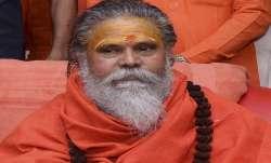Late Mahant Narendra Giri.