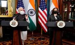 PM Modi, Kamala Harris