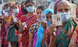 firing at polling booth bihar