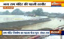 Ayodhya: Construction of Ram temple foundation now over,