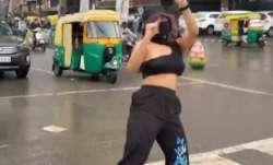 Indore traffic signal dance viral video