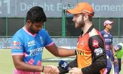 SRH vs RR Live Score IPL 2021
