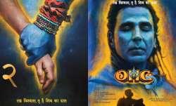 Akshay Kumar as Lord Shiva in OMG 2 posters
