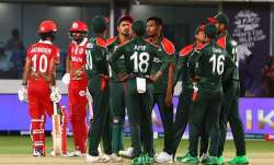 Bangladesh defeated Oman by 26 runs to stay alive in the