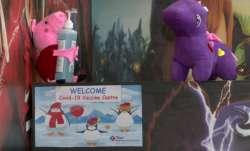 kid friendly vaccination centre