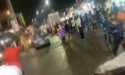 MP: Four injured as speeding car rams into Durga procession