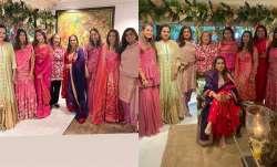 Mira Rajput, Padmini Kolhapure and others celebrate Karwa Chauth