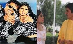 Bade Miyan Chote Miyan Turns 23: Raveena Tandon gets nostalgic, shares throwback pictures