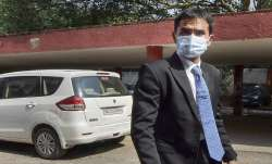 NCB Mumbai Zonal Director Sameer Wankhede arrives at the
